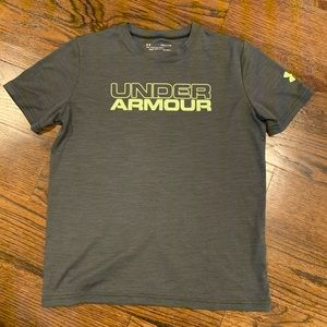 Under Armour Heat Gear Youth Large T-shirt, Boys